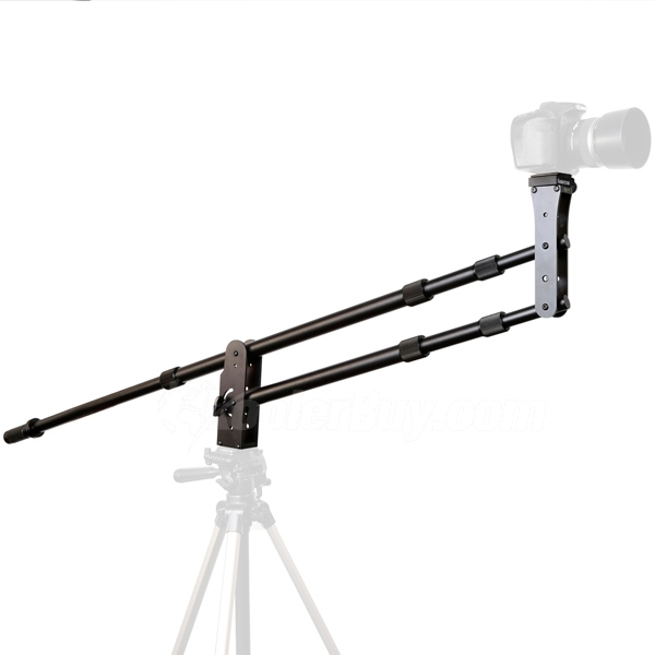 Koolertron Mini Jib Crane Portable Pro DSLR Video Camera Crane Jib Arm Standard Version+Bag