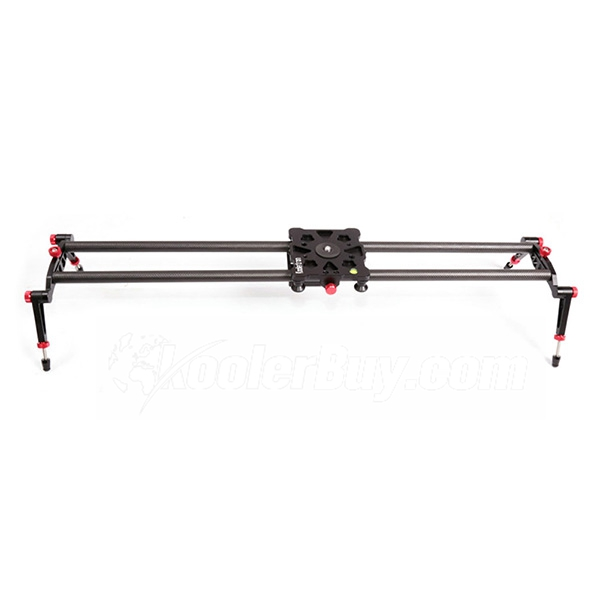 "Koolertron 32""/80cm Carbon Fiber Track Slider DSLR Camera Track Slider Video Stabilization Rail System with 17.5lbs/8kg Load Capacity, Perfect for Photography and Video"