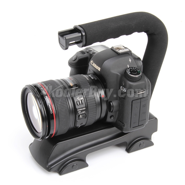 ... Handle Mount Grip For DV Camcorder DSLR Camera Canon Panasonic