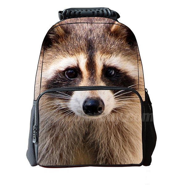 Koolertron Boys Girls Unisex's Vivid 3D Animals Print Daypack of Pet Dog Personalized Backpack School Bag with Environmental Felt Fabric and Polyester Material