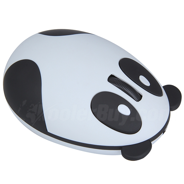 Koolertron 2.4GHz Wireless Optical Panda Computer Mouse for Children ...