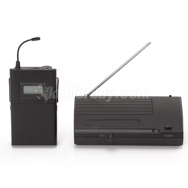 Koolertron New LCD 6 Selectable Channels Anti-jamming UHF Stereo 50m Transmission Distance In Ear Professional Stage Wireless Monitor System