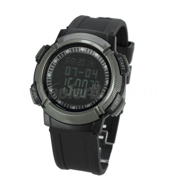 Pellor Multifunction Sport Mountain Climbing Watch With Compass,Height,Air Pressure Temperature And Weather Forecast Function
