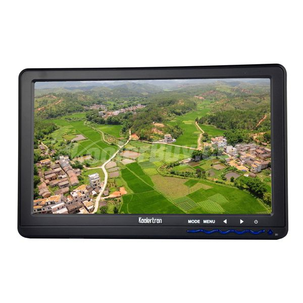 Koolertron 10.1HD Ground Station FPV Monitor for Aerial Photography and Camera Monitor HDMI AV Input 450cd Brightness
