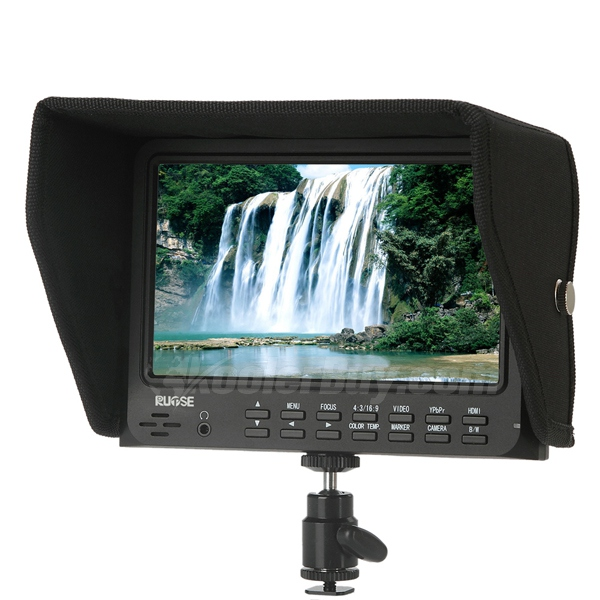 Rupse FW7DO 7 Inch LCD Field HD Monitor with Advanced Functions for Canon 5D-II Camera