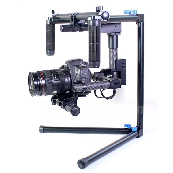 Koolertron 2-Axis Camera Gimbal W/servos & Gyro/handle gimbal/Stabilized Mount for Movie