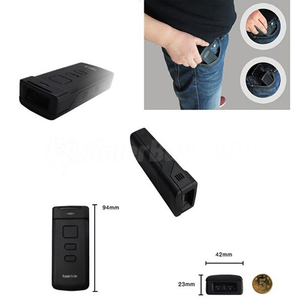 Koolertron 1D CCD Mini Wireless Bluetooth Barcode Scanner for PC