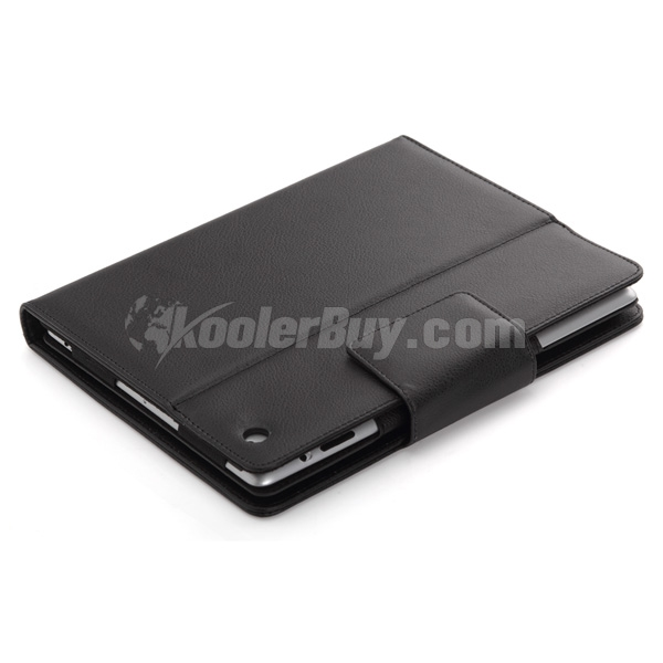Koolertron Leather Case Wireless Bluetooth Keyboard for Apple iPad 2 The New iPad 3rd Generation