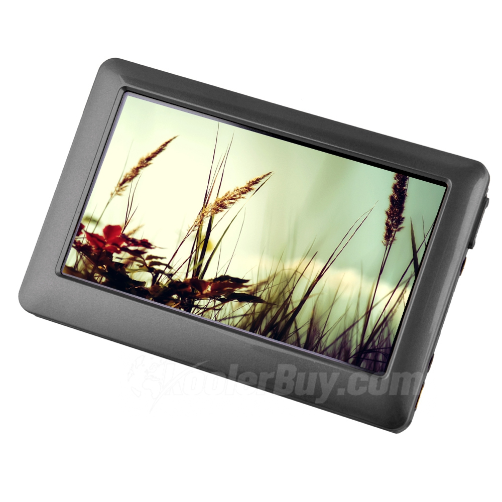 "4.3"" HD Touch Screen MP5 Player - Black (16GB)"