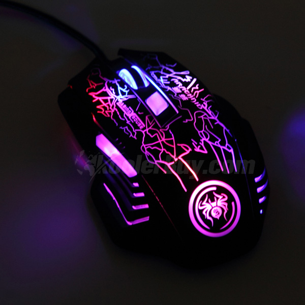 product image of koolertron 2400dpi led 6 button usb gaming game optical mouse mice for pro. Black Bedroom Furniture Sets. Home Design Ideas