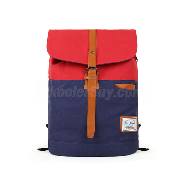 Koolertron Unique Colorful Korean Vintage Style Fashion UNISEX Casual Travel Laptop Backpack Bag(4 Colors)