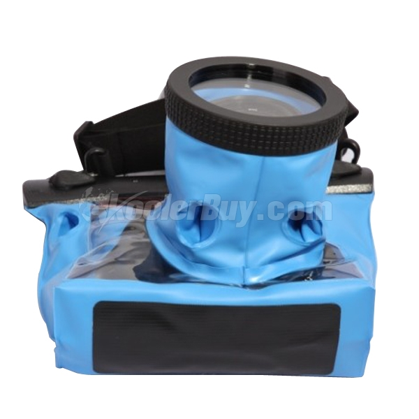 Koolertron Blue Medium 20M Underwater Use Waterproof Camera Bag DSLR Case For Canon Nikon