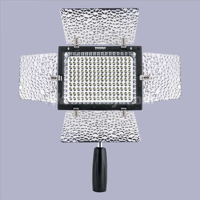 Yongnuo YN-160II LED Video Camera Light with Condenser MIC and Luminance Remote Control