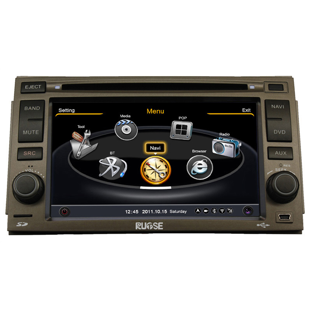 Rupse 2006-2011 Hyundai Azera DVD GPS Player With 3 Zone/POP/3G/WIFI/20 Disc CDC/DVD Recording/Phonebook/Game