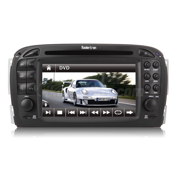 Product image of 2 din dvd gps navigation system for for How to use mercedes benz navigation system
