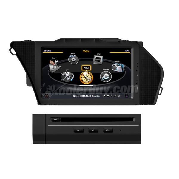 Car DVD GPS Navigation With dual-core/3Zone POP 3G/WIFI/20 Disc CDC/DVD Recording/Phonebook/Game For Mercedes Benz GLK