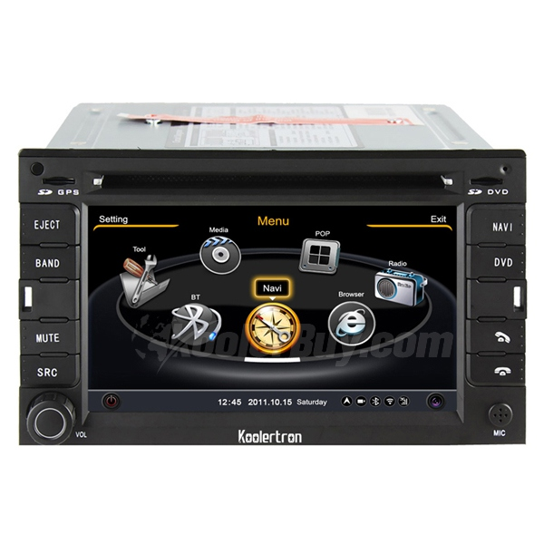 Koolertron Honda CRV Old City Odyssey DVD Player With 3 Zone/POP/3G/WIFI/20 Disc CDC/DVD Recording/Phonebook/Game