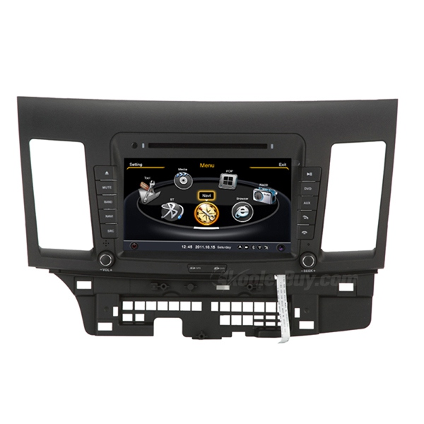 Koolertron Car DVD GPS Navigation With dual-core/3Zone POP 3G/WIFI/20 Disc CDC/ DVD Recording/ Phonebook / Game For Mitsubishi Lancer
