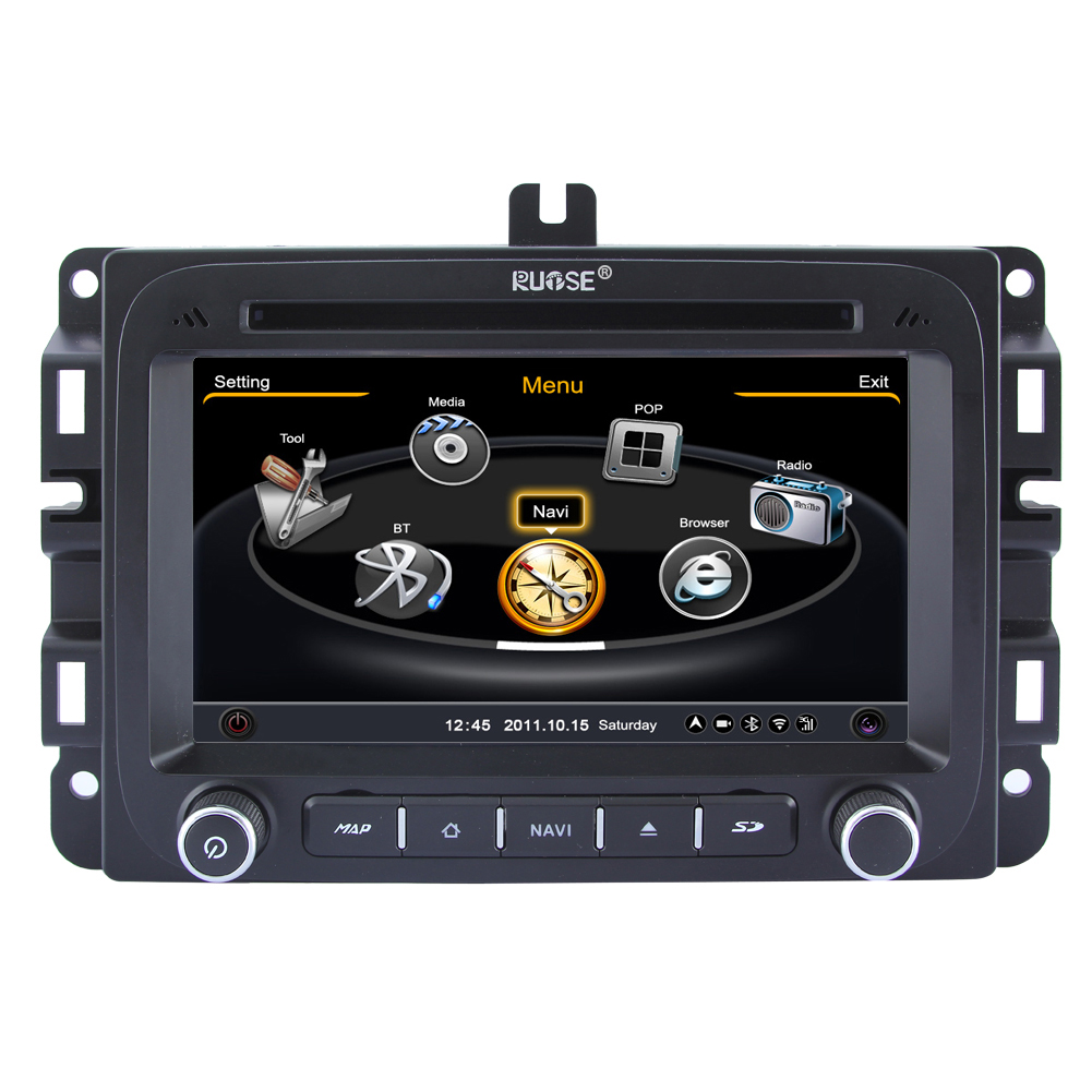 Rupse Car DVD GPS Navigation For 2014 Dodge Ram1500 RAM2500 With dual-core/3Zone POP 3G/WIFI/20 Disc CDC/ DVD Recording/ Phonebook / Game