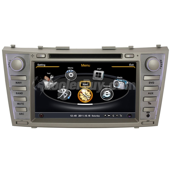 "Rupse 2007-2011 Toyota Camry & Aurion 8"" DVD GPS Navigation System With 3 Zone/POP/3G/WIFI/DVD Recording/Phonebook/Game"