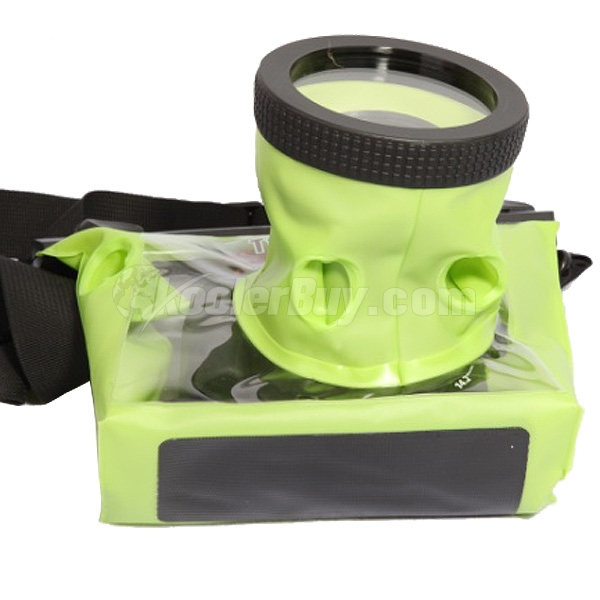 Koolertron Green Large 20M Underwater Use Waterproof Camera Bag DSLR ...