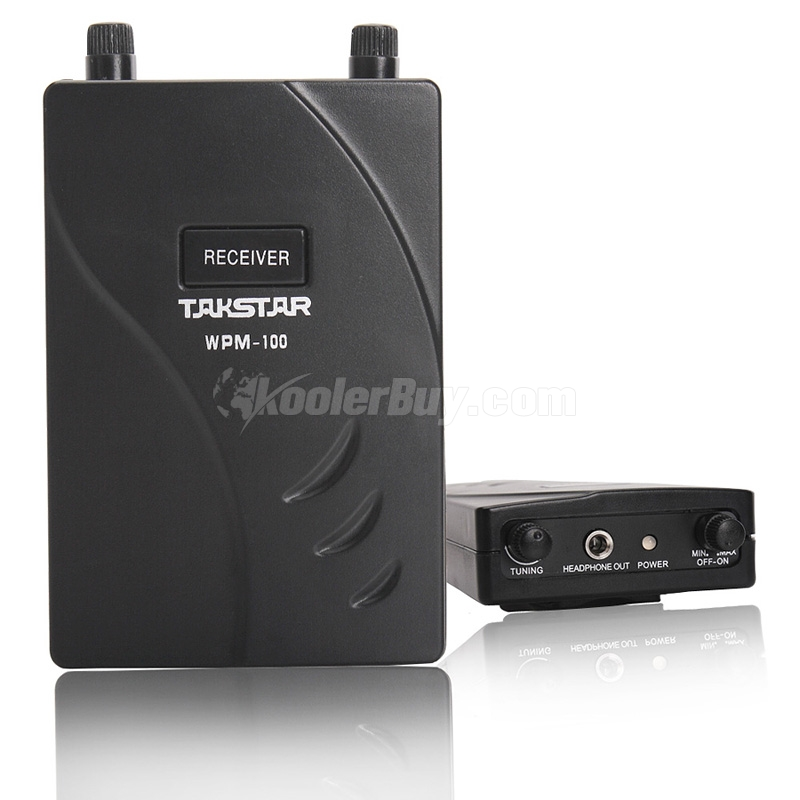 Koolertron Takstar New In Ear Stage Wireless Monitor System Only Receiver