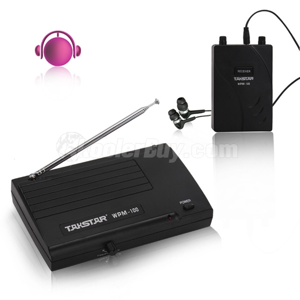 Koolertron Takstar New In Ear Professional Stage Wireless Monitor System