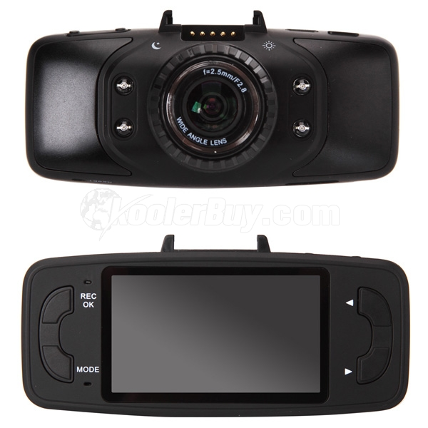 "Koolertron 2.7"" 1080P HD GS9000 Night Vision Dash Cam With GPS G-sensor"