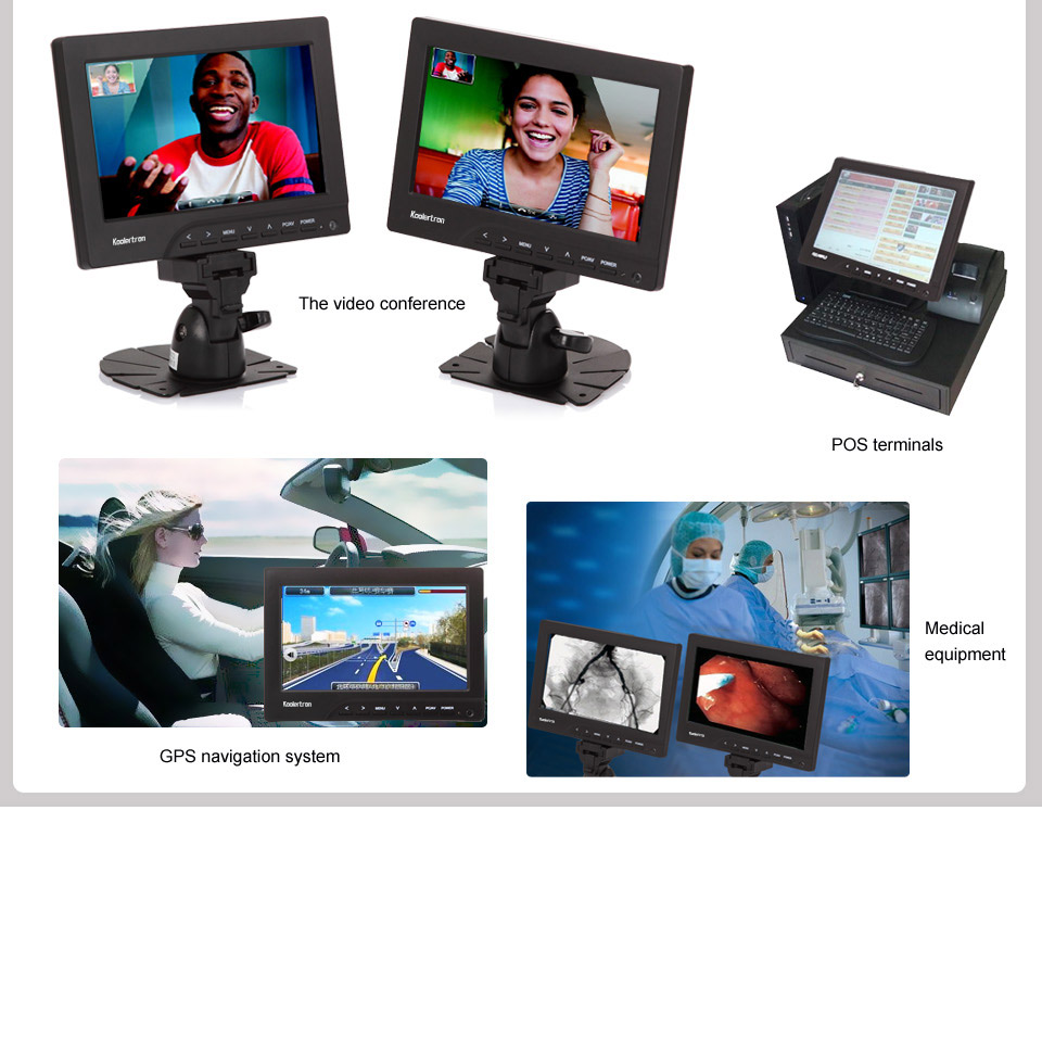 tft lcd touch monitor