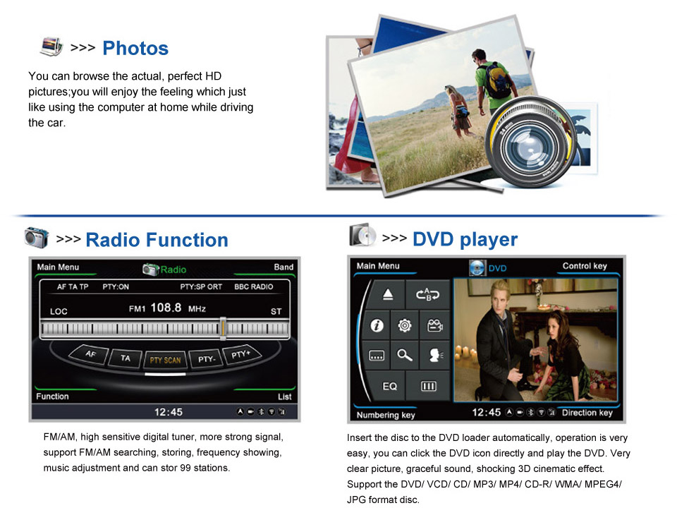 honda crv dvd player