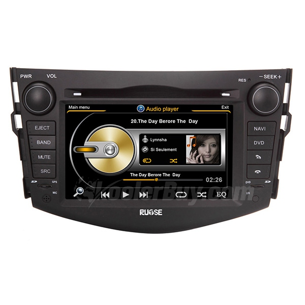 Rupse 2006-2013 Toyota RAV4 Navigation System With 3 Zone/POP/3G/WIFI/DVD Recording/Phonebook/Game